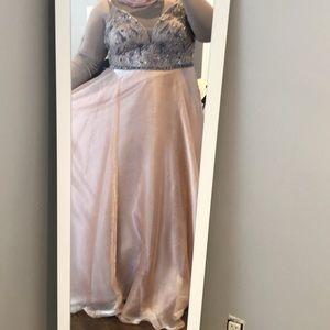 Dresses & Skirts - plus size engagement dress - blush